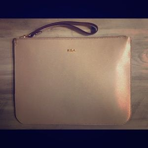 Ralph Lauren Leather Pouch